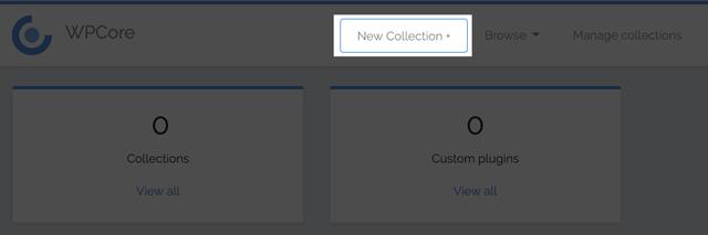 のプラグインを一括インストールする「WPCore Plugin Manager」のコレクションの追加