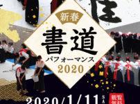 【書道パフォーマンス2020】三井アウトレットパークへ迫力の書道を見に行こう!