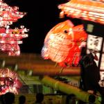 小矢部市「津沢夜高あんどん祭」大迫力のぶつかり合いと綺麗な行燈を満喫!