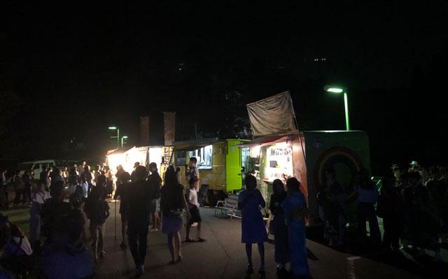 太閤山ランド花火大会の屋台3