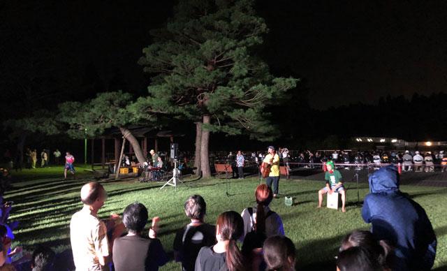 太閤山ランド花火大会のステージイベント