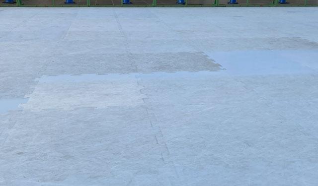 総曲輪グランドプラザ、富山の冬の風物詩「エコリンク」の樹脂パネル