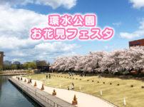 【環水公園お花見フェスタ】桜とイベントを満喫☆駐車場なども紹介!