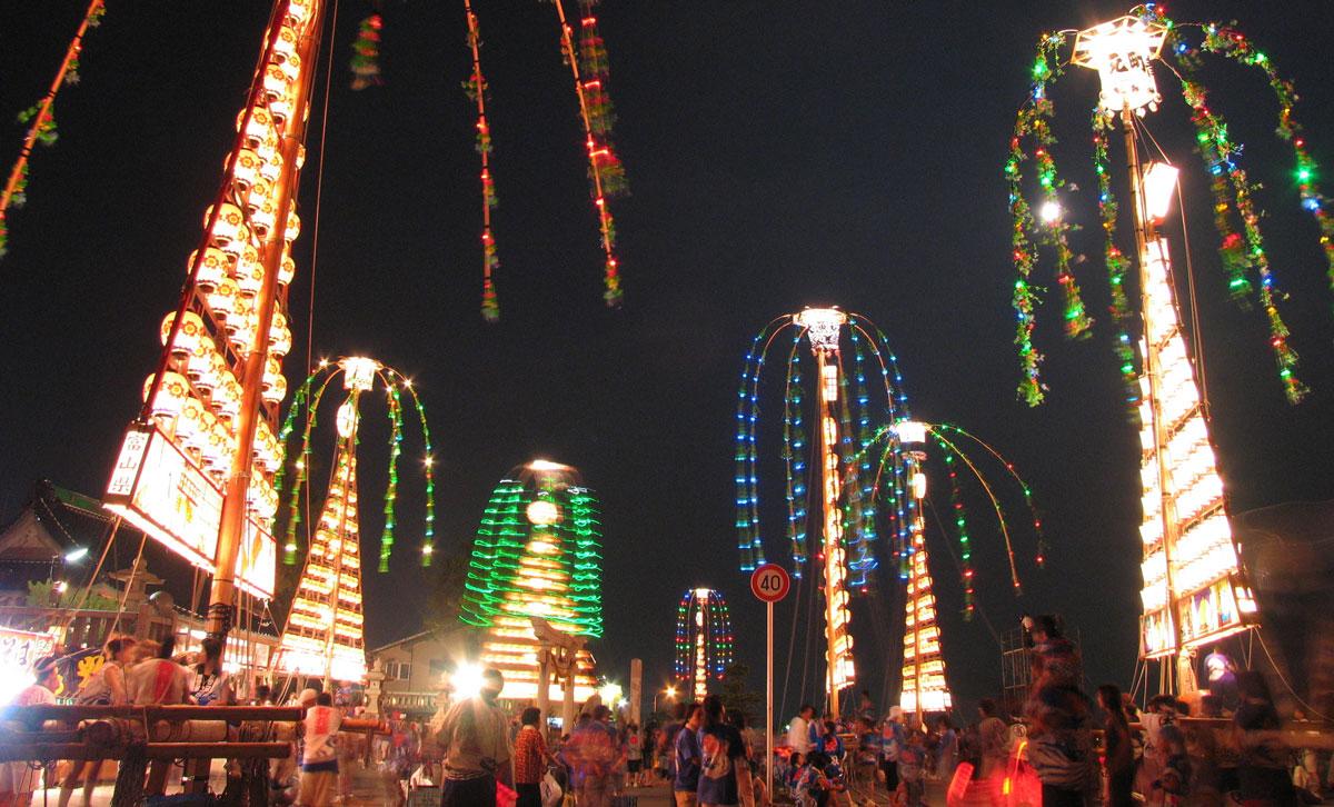 【じゃんとこい魚津まつり】たてもん祭りに花火大会も!交通規制マップ