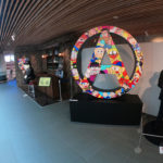 富山市高志の国文学館で開催されている「藤子不二雄A展」エントランスゾーン