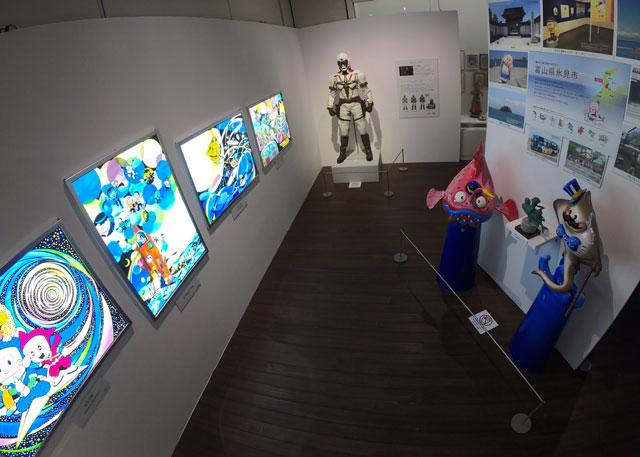 富山市高志の国文学館で開催されている「藤子不二雄A展」Aの変コレクションゾーン