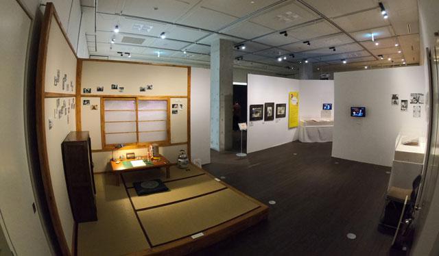 富山市高志の国文学館で開催されている「藤子不二雄A展」トキワ荘ゾーン
