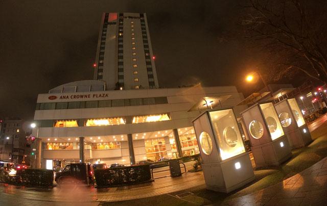 ANAクラウンプラザホテル富山の夜景