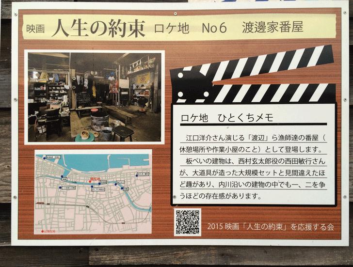 映画「人生の約束」ロケ地看板No6