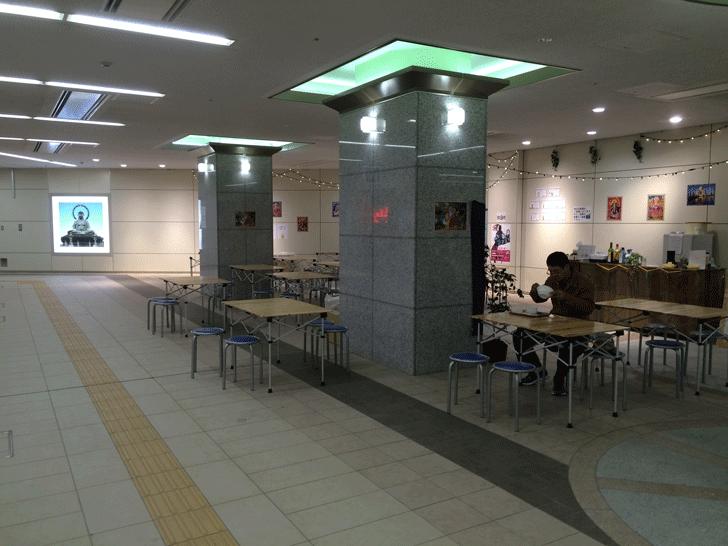 高岡駅地下バル2