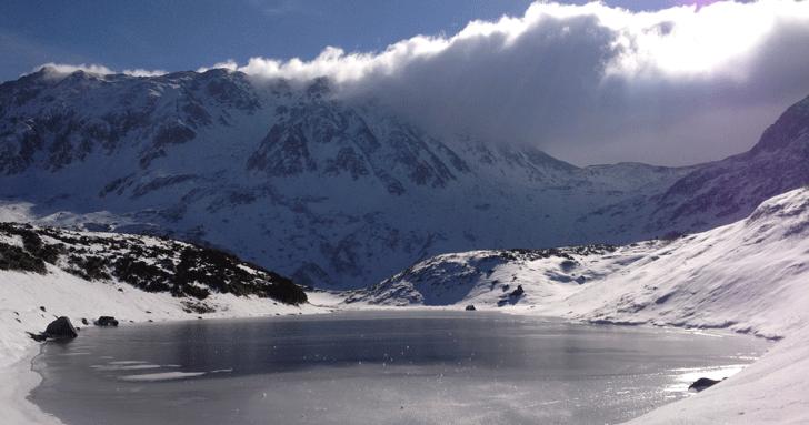 冬の立山室堂