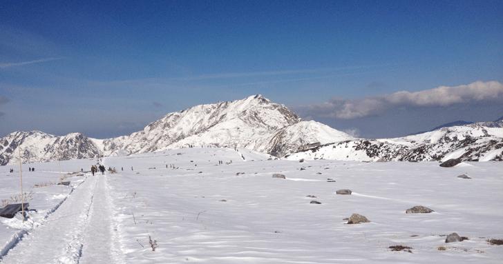 冬の立山室堂2