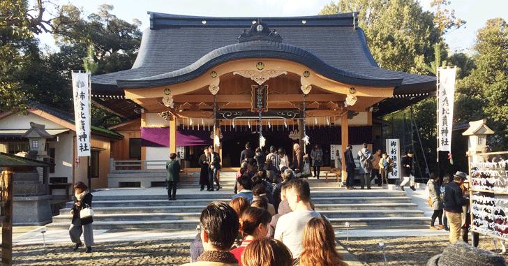 姉倉比賣神社(呉羽)の初詣