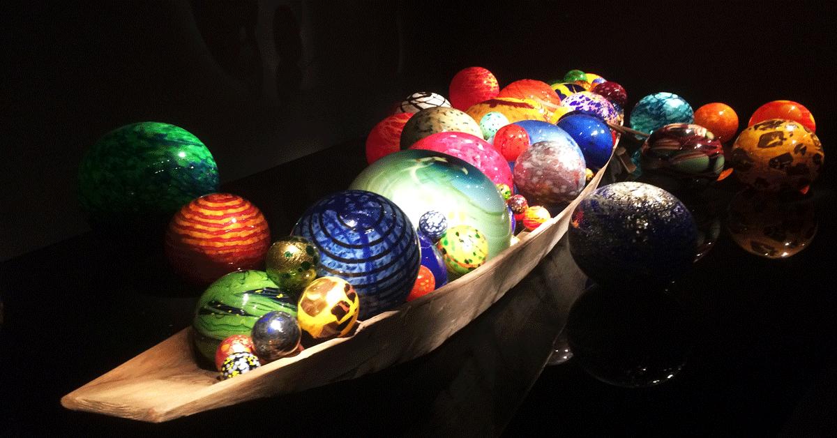 富山市ガラス美術館常設展