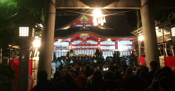 日枝神社の初詣