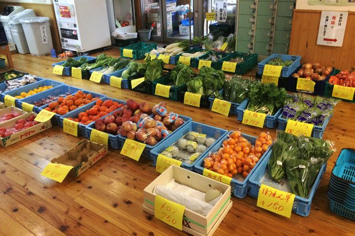 ゆーランド野菜販売所
