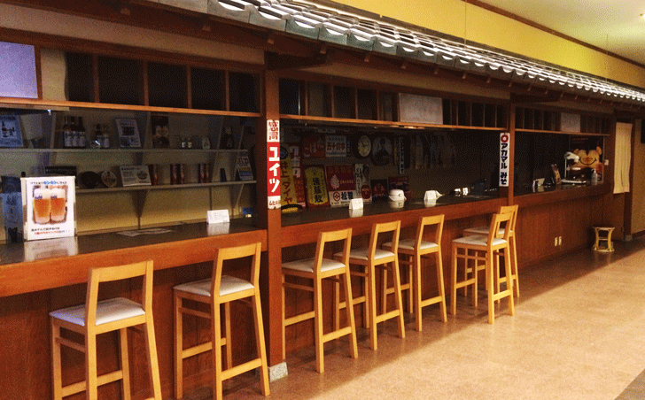 宇奈月杉乃井ホテルのバー
