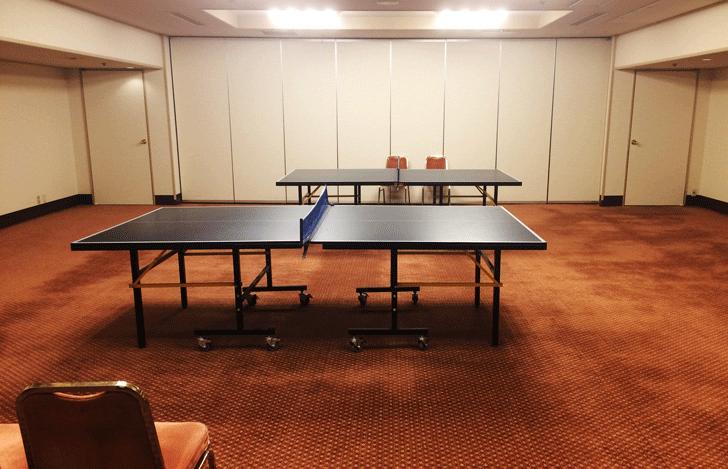 宇奈月杉乃井ホテルの卓球