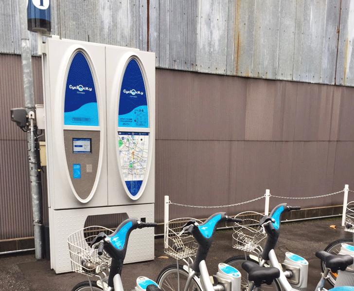 Cyclocityシクロシティのターミナル