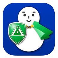雪みち富山アプリのアイコン