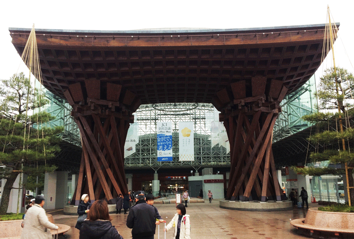 JR金沢駅の外観
