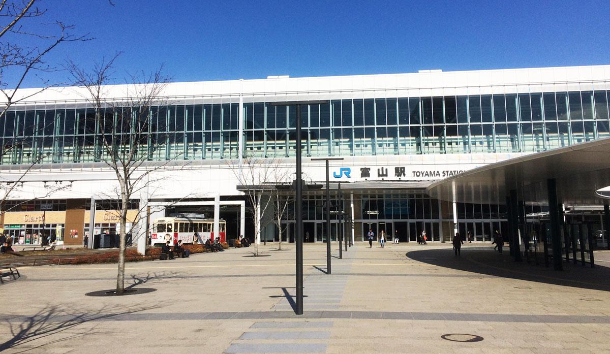 JR富山駅の外観