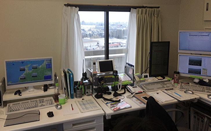 富山中央病院のCS室1