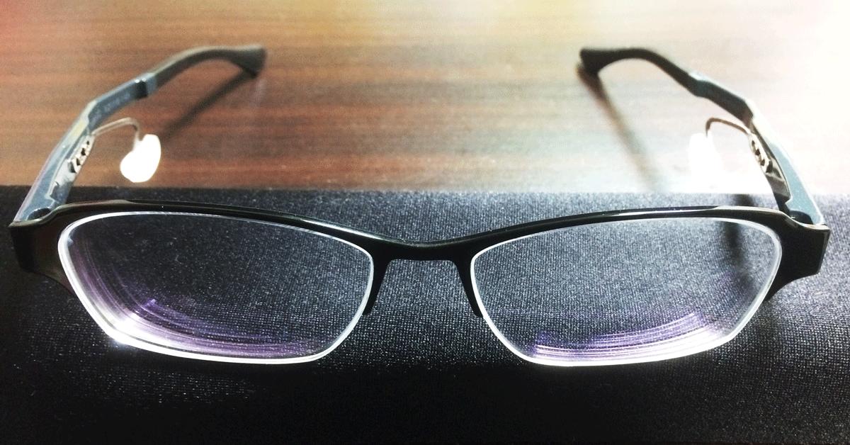 「ネオジンneojin」鼻パッドのないメガネ