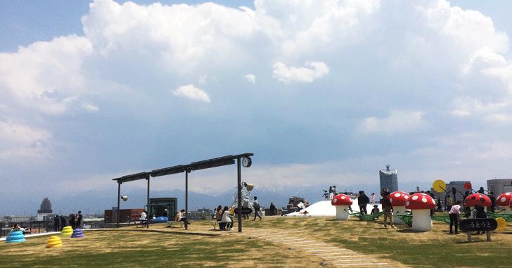 富山県美術館「オノマトペの屋上」2