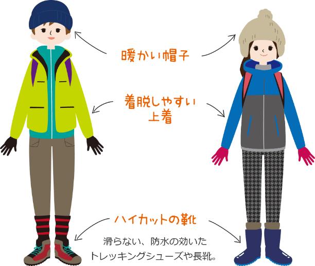 立山黒部アルペンルート・雪の大谷へ行く時の服装