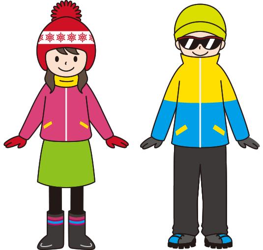 立山・雪の大谷へ行く時の服装