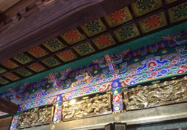 八尾の専能寺(せんのっさま)の型染め八尾和紙