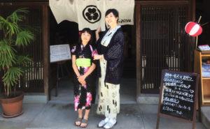 濃厚富山観光ができる越中八尾ベースおやつの美人女将、原井さゆりさん