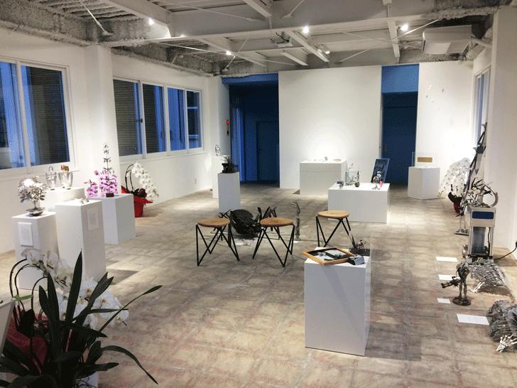 メタルアートのファクトリー アートミュージアム トヤマの展示品