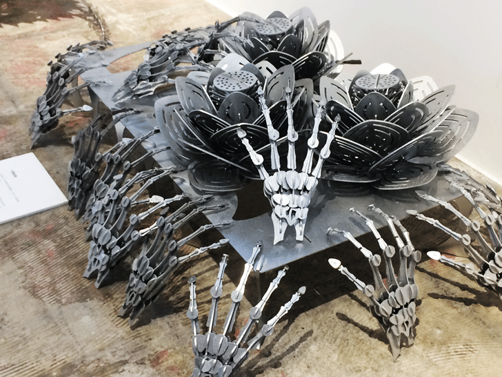 メタルアートのファクトリー アートミュージアム トヤマの展示品4