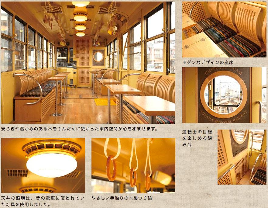 観光列車「レトロ電車」