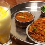 インド料理「サントシ」のビリヤニセット