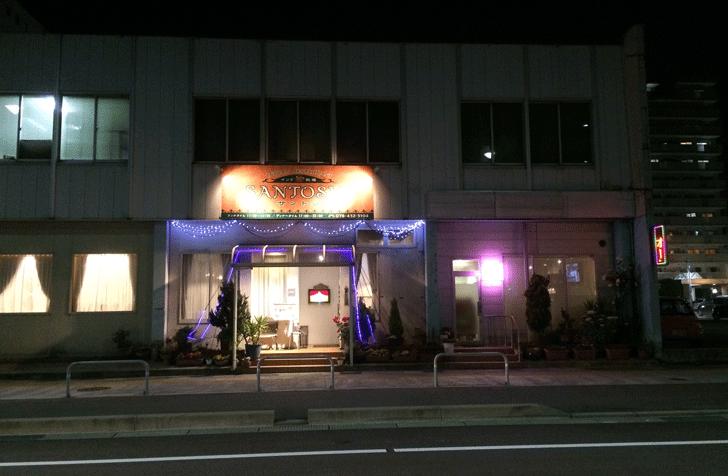 富山駅前インド料理サントシの外観