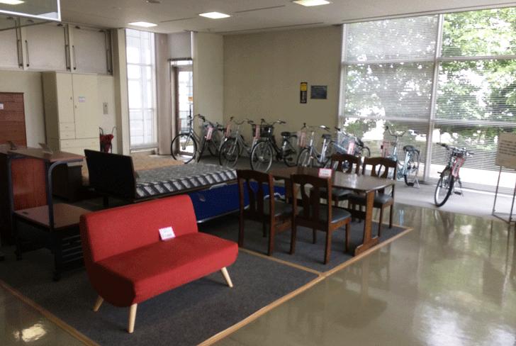 リサイクルプラザ富山の格安リサイクル品
