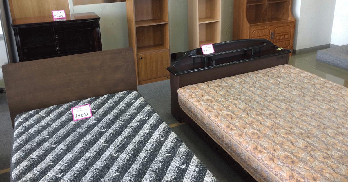 リサイクルプラザ富山の格安ベッド