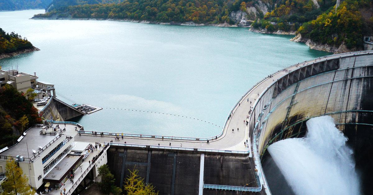 黒部ダムへの交通手段!行き方、料金、時間!富山から?長野から?
