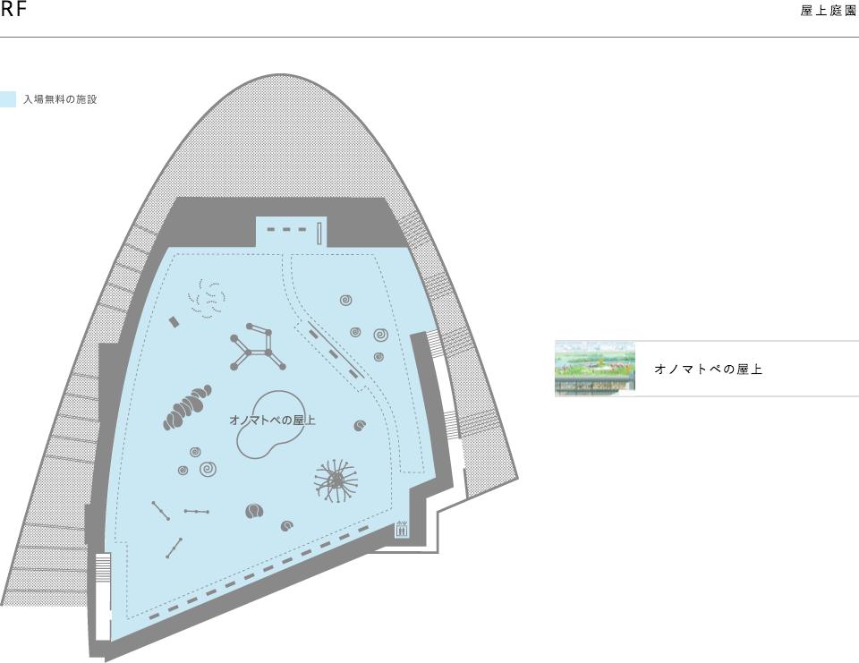 富山県美術館の館内マップF4