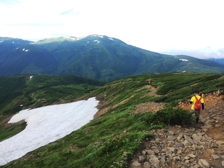 富山県の百名山薬師岳の薬師平