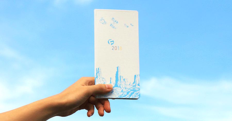 藤子・F・不二雄ミュージアム限定販売のドラえもんほぼ日手帳