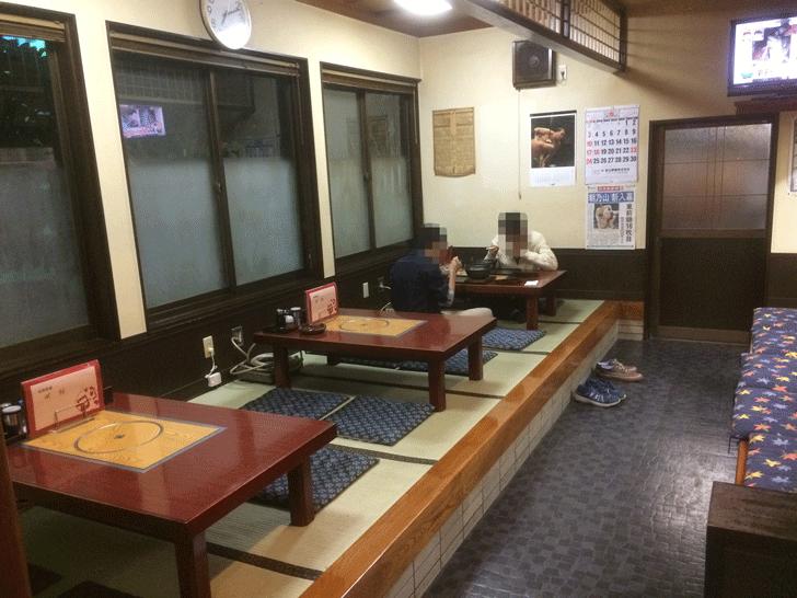 朝乃山関も御用達!呉羽の定食屋「丸忠」の店内1