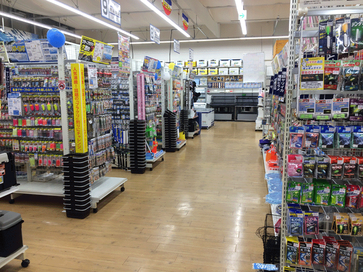 リニューアルオープンした上州屋富山空港通り店の店内4