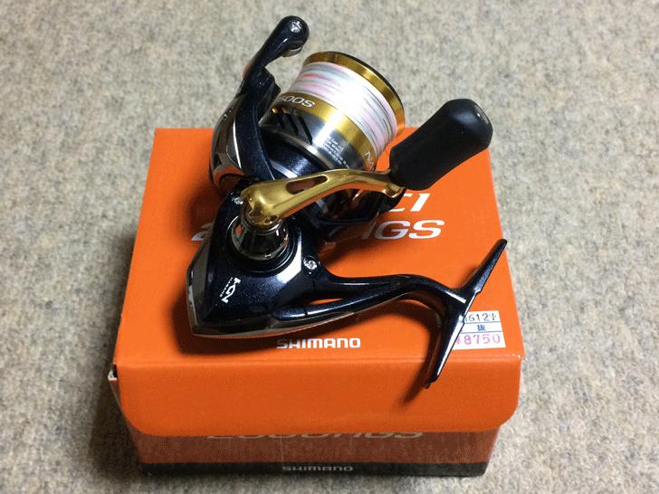 リールshimano-nasci2500