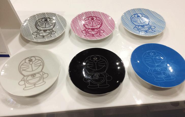 THEドラえもん展TOKYO2017のドラえもんの小皿