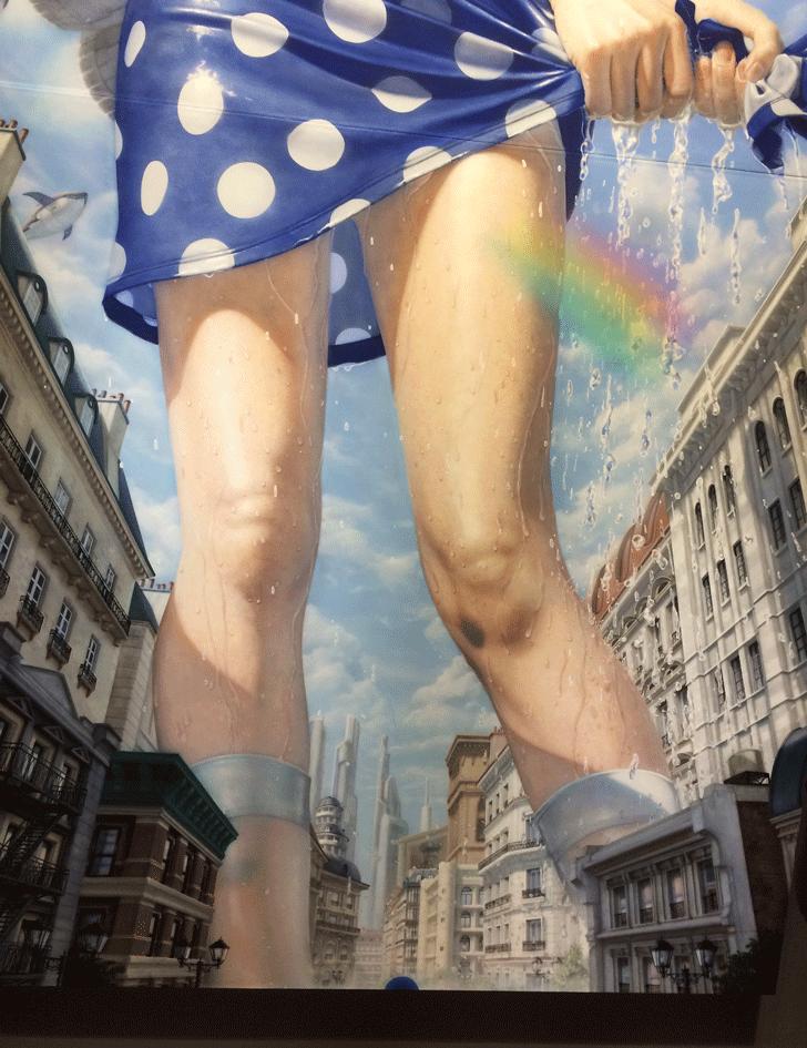 THEドラえもん展TOKYO2017のリアルしずかちゃん