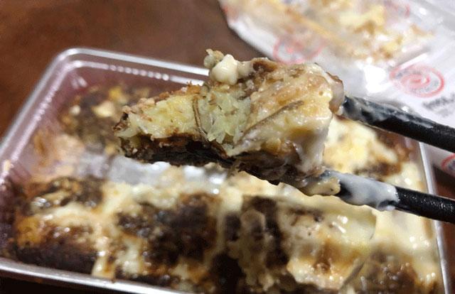 B級グルメ「ぼてやん多奈加」富山の大人気お好み焼き屋の昆布玉